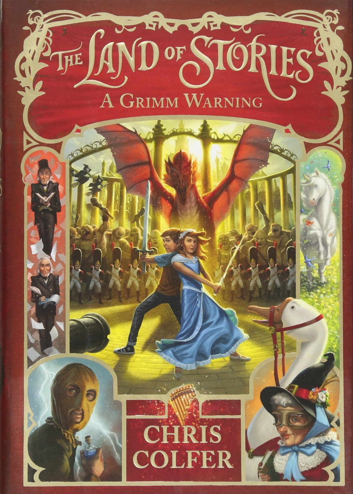 A Grimm Warning (The Land of Stories) ebook