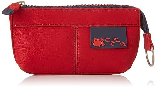 ctta caminatta S4306, Monedero para Mujer, (Rojo), 2x8x16 cm ...
