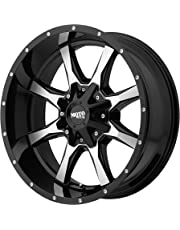 amazon wheels tires wheels automotive car truck suv 1938 Chevy Suburban moto metal mo970 gloss black wheel machined with milled accents 17x8 6x135
