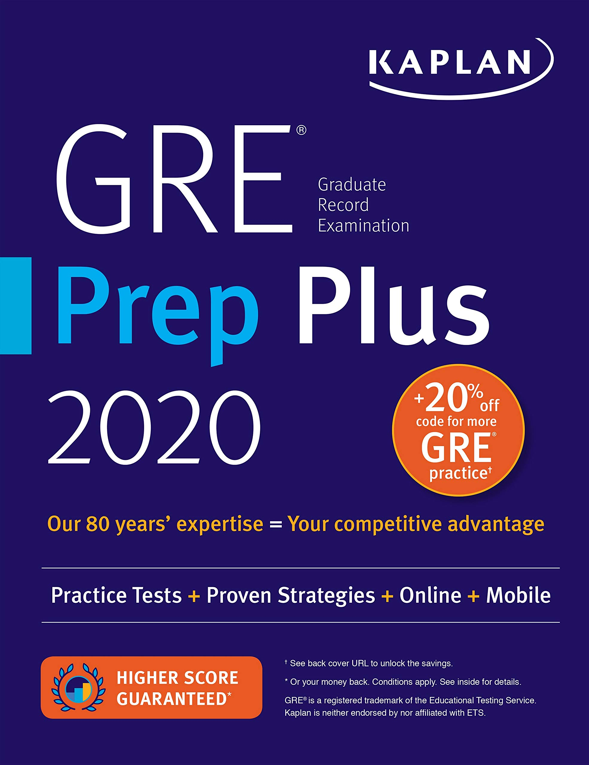 Best Gre Prep Book 2020.Gre Prep Plus 2020 6 Practice Tests Proven Strategies