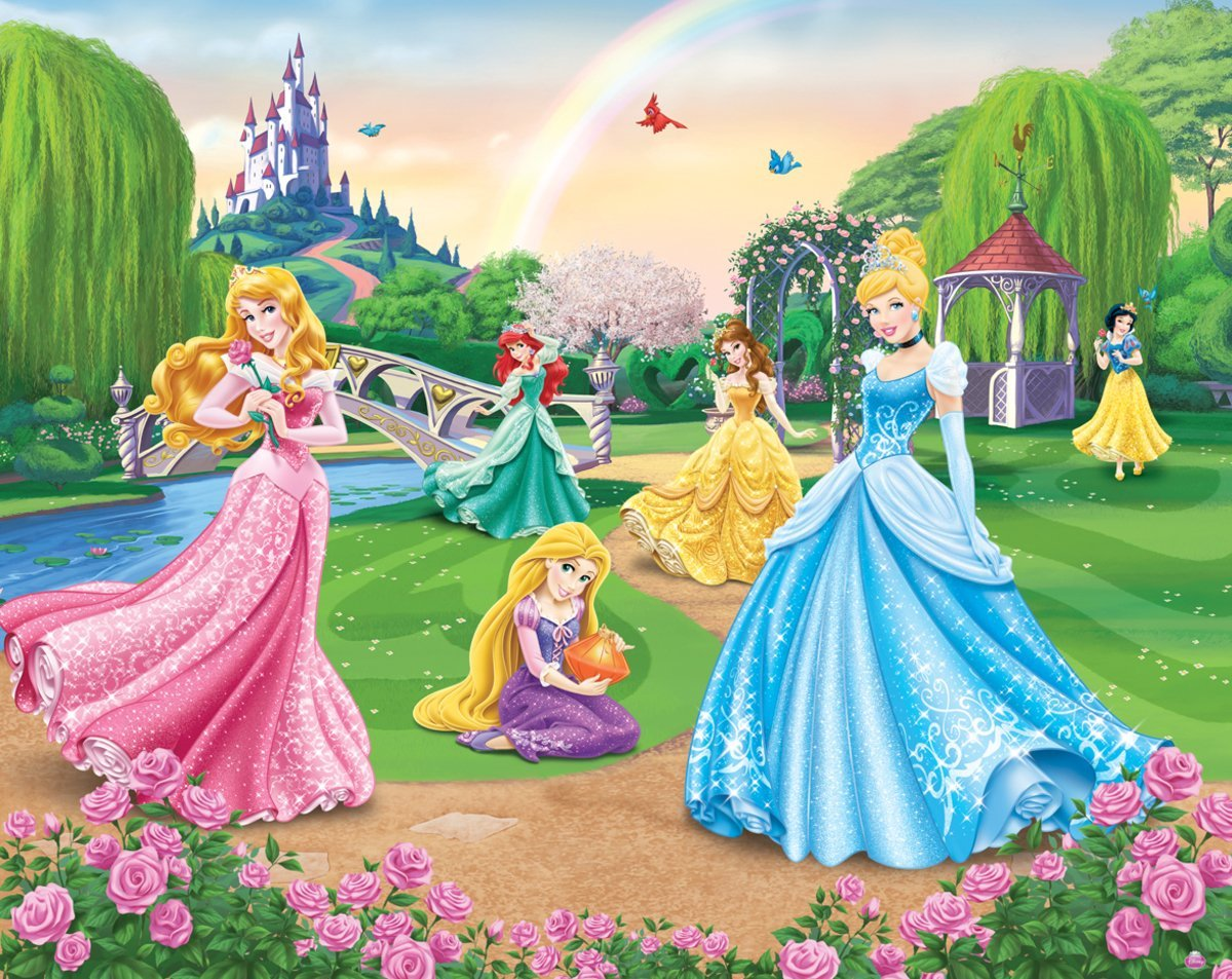 Walltastic Paper Walltastic Disney Princess Mural, Pack Of 1: Amazon.co.uk:  Kitchen U0026 Home Part 51