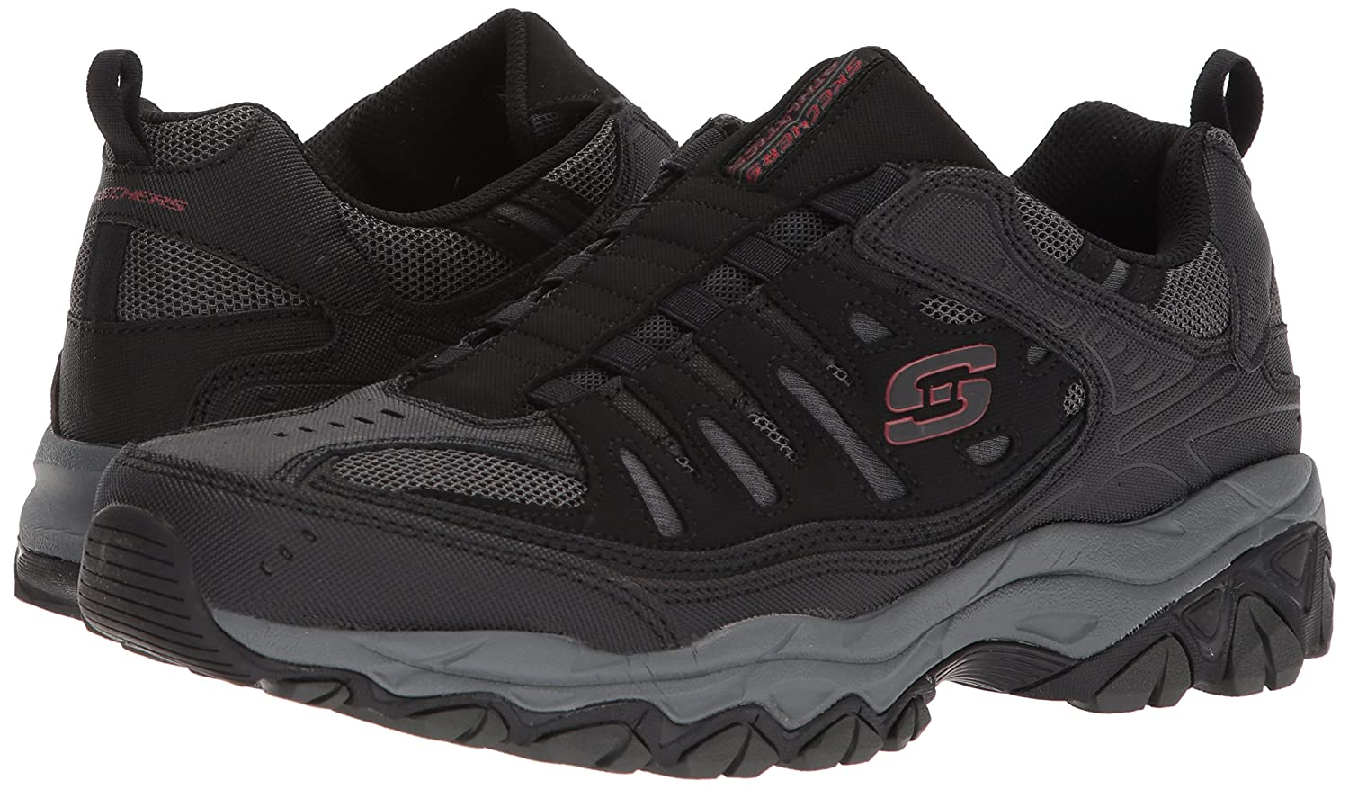 Skechers-Afterburn-Memory-Foam-M-Fit-Men-039-s-Sport-After-Burn-Sneakers-Shoes thumbnail 16