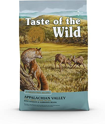 Taste of The Wild Grain Free High Protein Dry Dog Food Appalachian Valley Small Breed
