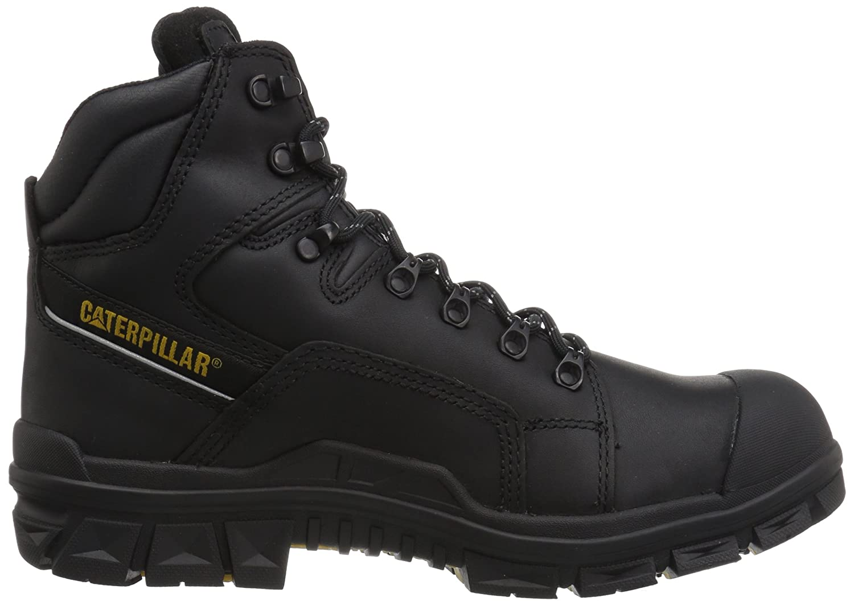 Amazon.com | Caterpillar Mens Struts Waterproof Nano Toe/Black Industrial and Construction Shoe | Industrial & Construction Boots