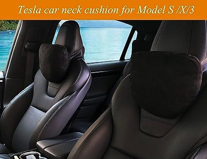 Topfit Tesla Neck Rest Relax Support CushionCar Headrest Pillows For Model S