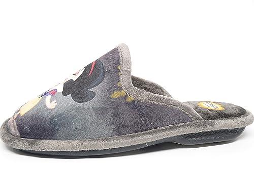 Zapatilla mujer para andar por casa BIORELAX - Suapel color Gris - 4536 - 56 (