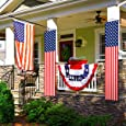 Veterans Day Decoration Banner American Flag Banner 4th of July Memorial Day Independence Day Flag Day Patriotic Decorations Bunting Garland