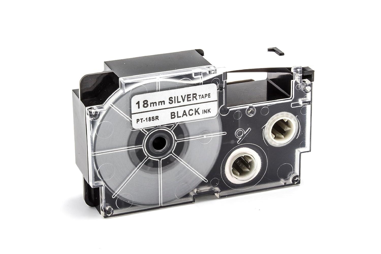 KL-7200 XR-12YW1. KL-2000 vhbw Kassette Patronen Schriftband 12mm f/ür Casio KL-130 KL-G2 KL-HD1 wie XR-12YW KL-200E KL-200 KL-7400