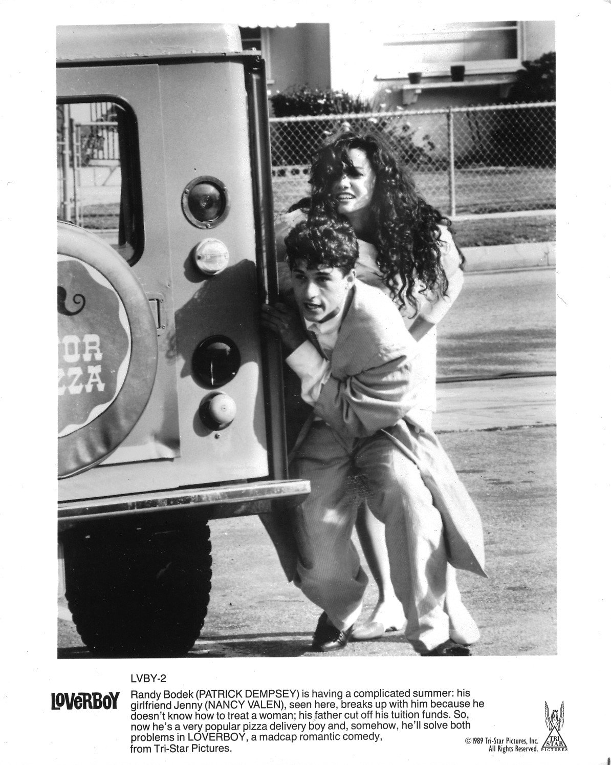 Patrick Dempsey Nancy Valen Orig 8x10 Photo G9375 At Amazons