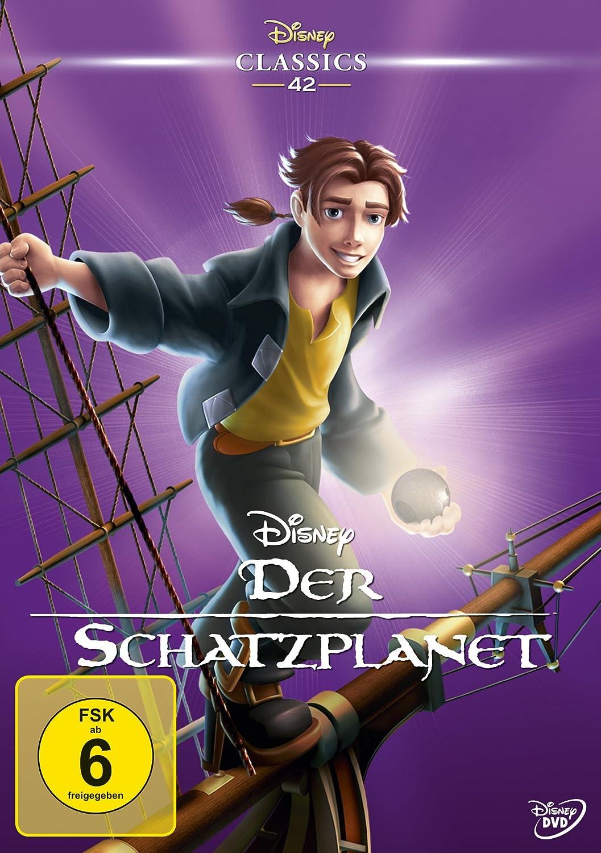 Der Schatzplanet (Disney Classics) [Alemania] [DVD]: Amazon ...
