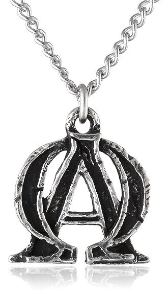 Amazon alpha and omega pendant necklace alpha and omega alpha and omega pendant necklace mozeypictures Choice Image
