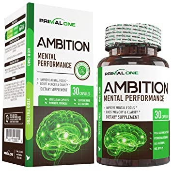 Amazon Com Ambition Nootropic Brain Booster Supplement Enhance
