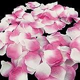 Magik 1000-5000pcs Seta Petali Di Rosa Fiore Festa Di Nozze Pasty decorazioni per la tavola, varie scelte, Sakura & White, 1000