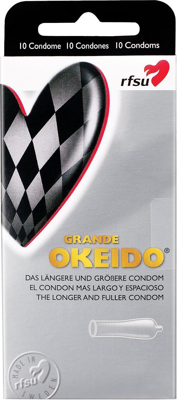 rfsu okeido Condones – Pack de 10: Amazon.es: Salud y cuidado personal