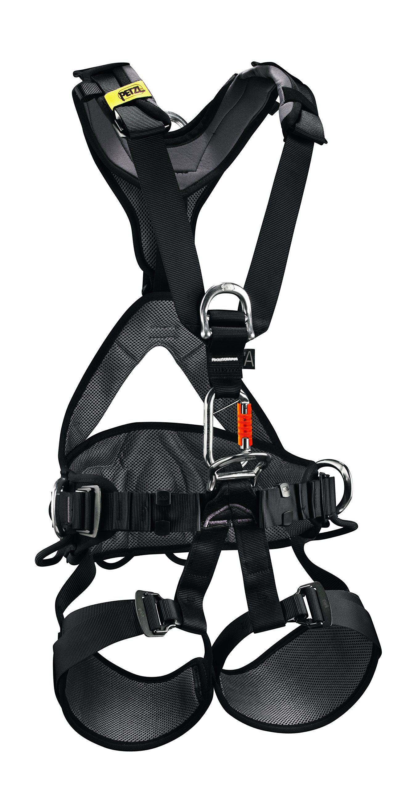 PETZL - AVAO BOD International Version, Comfortable Harness for Fall Arrest, Size 2