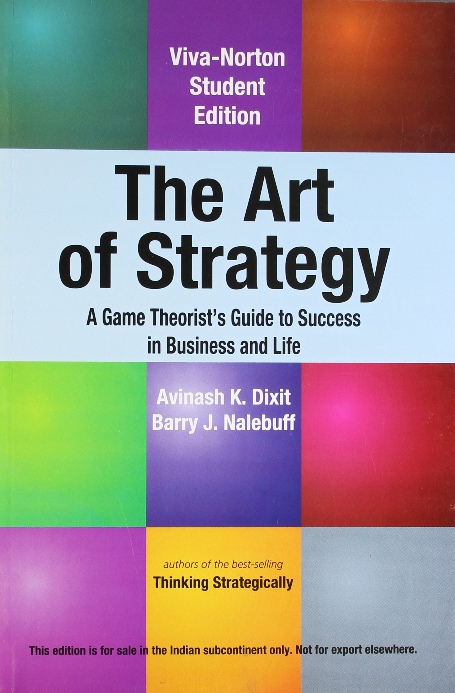 The Art of Strategy: Amazon.es: Dixit, Avinash K.: Libros en idiomas extranjeros