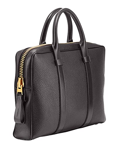 8cd27a40dcd3 Amazon.com: Tom Ford Men's Buckley Brown Medium Briefcase: Shoes