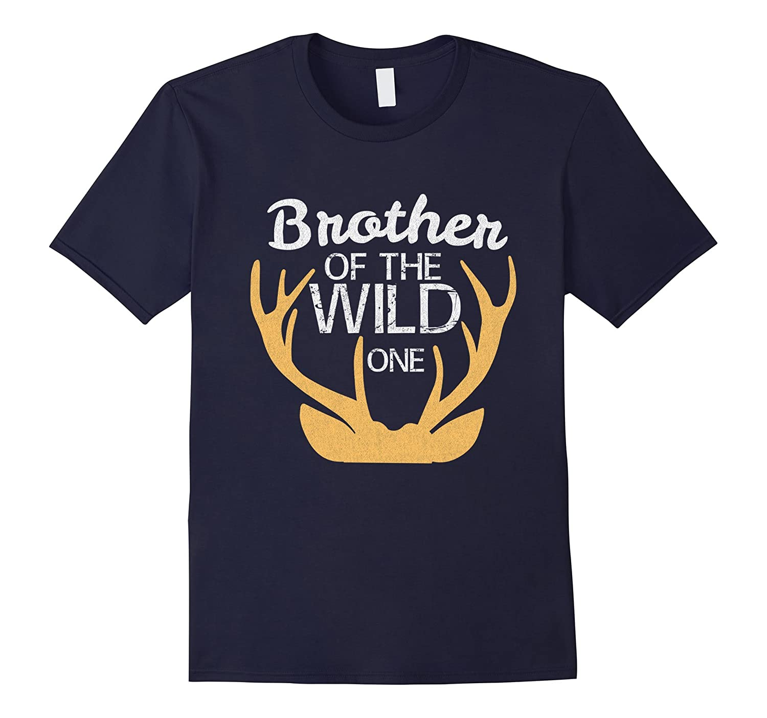 Cute The Wild One Brother Shirt Birthday Family Matching Tee-T-Shirt