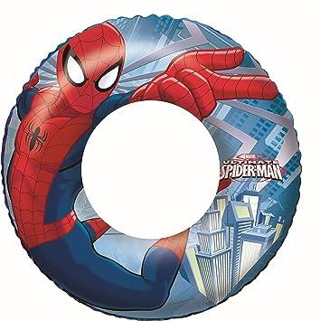 Oferta amazon: Bestway 98003 - Flotador Hinchable Infantil Spiderman 56 cm
