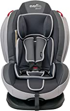 Evenflo 6521 Autoasiento Convertible Bari, color Gris/Negro