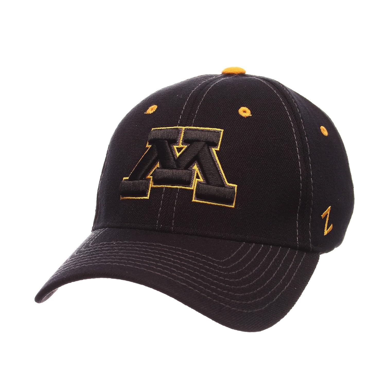 Amazon.com   Zephyr Men s Minnesota Golden Gophers Element ZWOOL Stretch  FIT HAT   Sports   Outdoors 3c595c935b26