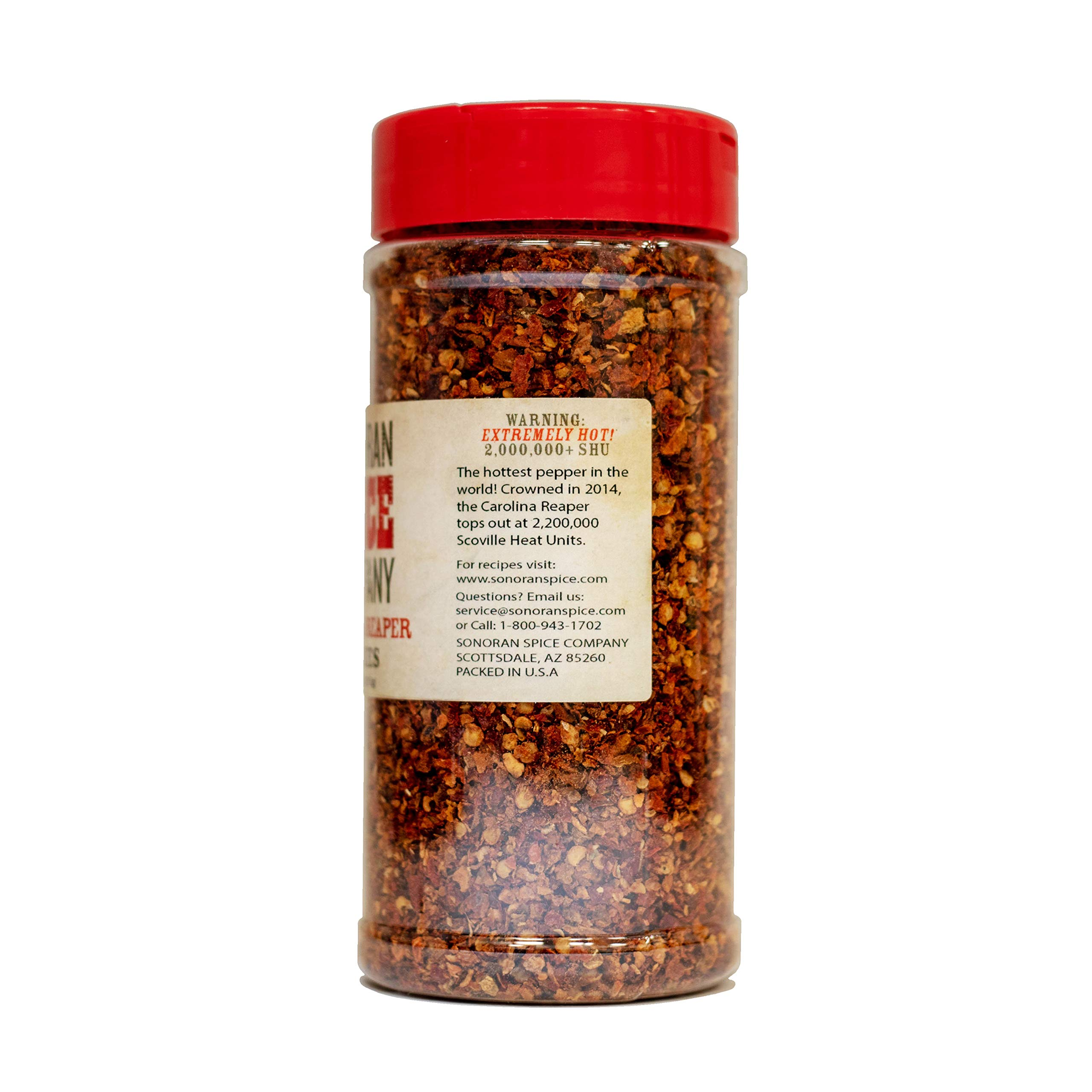 Carolina Reaper Flakes (4 Oz) by Sonoran Spice (Image #4)