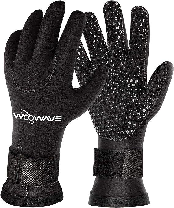 Wear-Resistant Spearfishing Boating Gloves Warm Water Sports Glove for Scuba Snorkeling Surf Kayaking Swim CXWXC Neoprene Diving Wetsuit Gloves for Men Women
