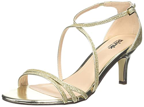 c64ad8801fefff Pink by Paradox of London Women s Isla Ankle Strap Sandals  Amazon ...