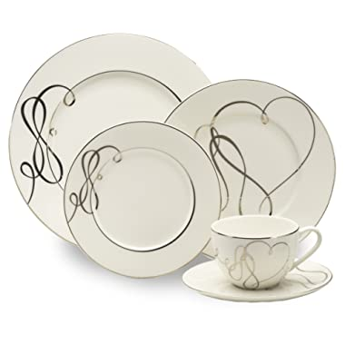 Mikasa Love Story 40-Piece Dinnerware Set, Service for 8