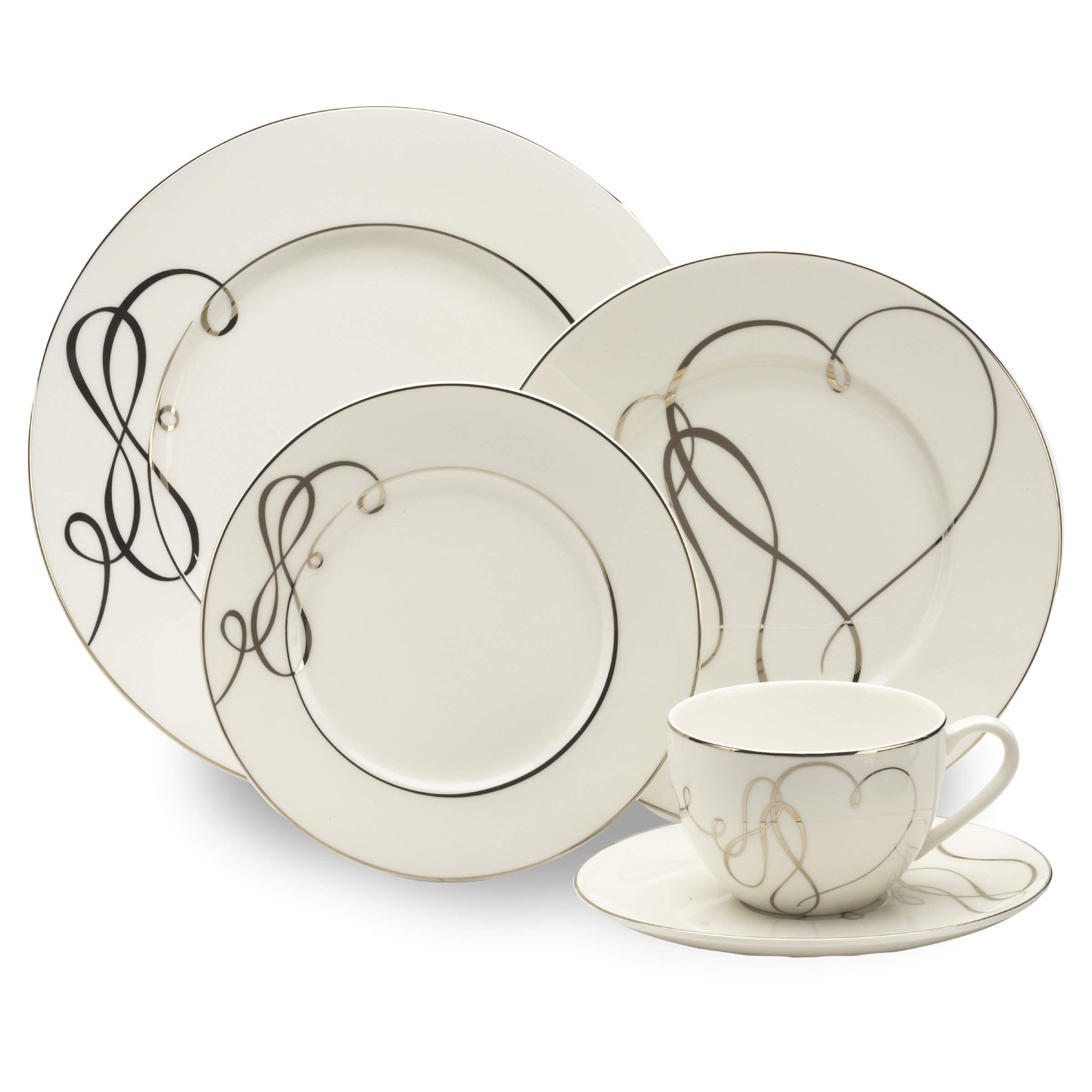 Mikasa Love Story 5-Piece Place Setting, Service for 1