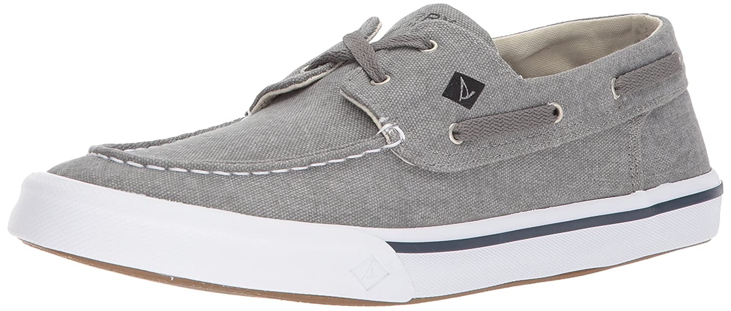 TALLA 43 EU. Sperry Bahama II Boat Washed Grey - Náuticos Hombre