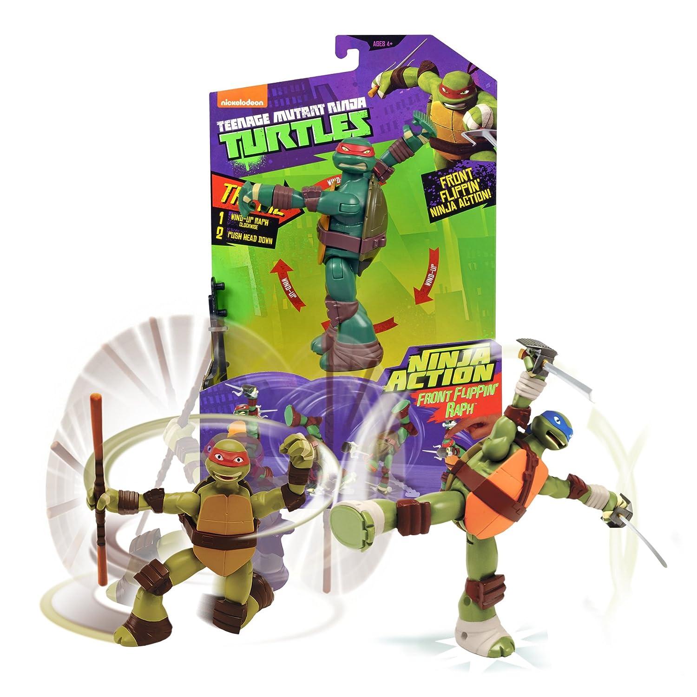 Tortugas Ninja - TMNT Figura de acción de Michelangelo (Giochi Preziosi 91621)