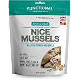 The Honest Kitchen Nice Mussels: Natural Human Grade Freeze Dried Dog Treats, Blue & Green Mussels
