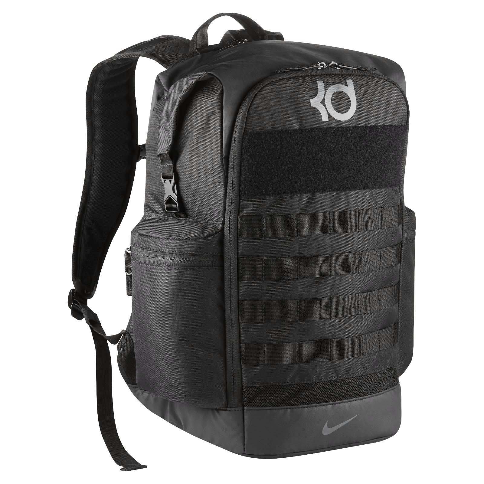 Nike KD Trey 5 V Kevin Durant Black Grey Mens Basketball Backpack Bag BA5389-010