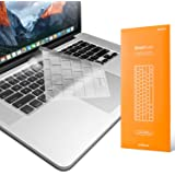 """UPPERCASE GhostCover Premium Ultra Thin Clear Keyboard Protector for MacBook Air 2010-2017 and MacBook Pro 13"""" 15"""" 17"""" with o"""