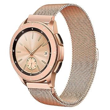 TRUMiRR 20mm Milanese Loop venda de reloj de la correa de la cerradura magnética para Garmin