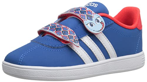 adidas NEO Court Animal INF Shoe (Infant/Toddler),Blue/White/Blue ...