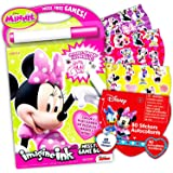 Disney Minnie Mouse Imagine Ink Book Super Set (Includes Over 100 Stickers and Mess-Free Marker)