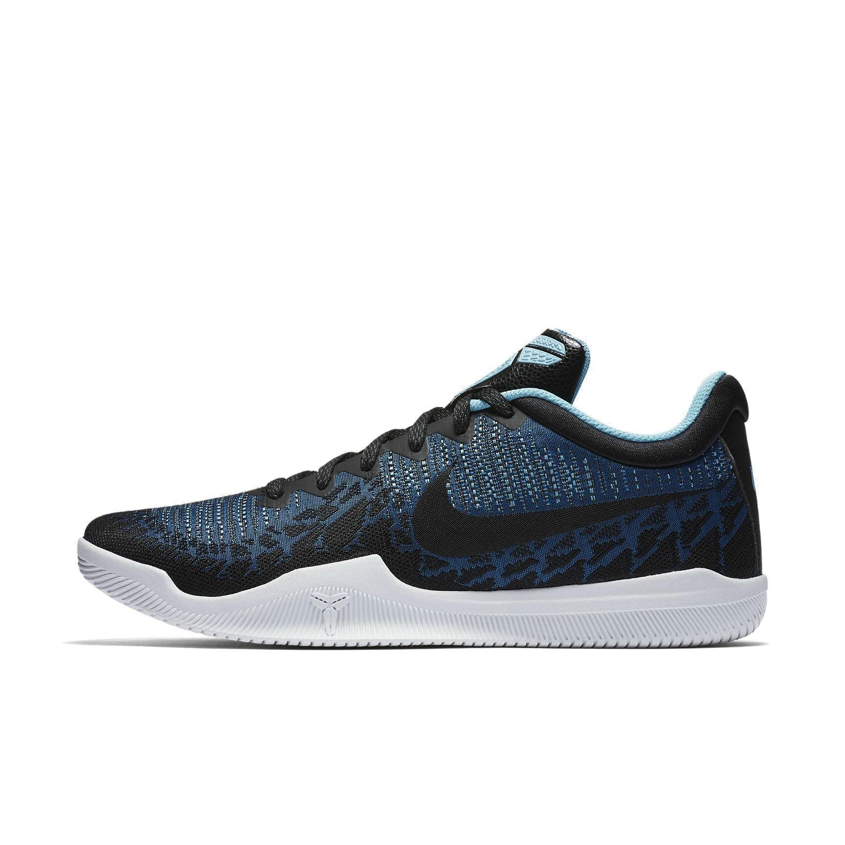 92c1a2d4995 Galleon - NIKE Men s Mamba Rage Basketball Shoes Blue Nebula Black Blue  Gale White Size 12 M US