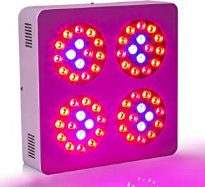 Roleadro LED Grow Plants Lights Greenhouse and Indoor Use Plant Light 5W Chip (300 Watts)