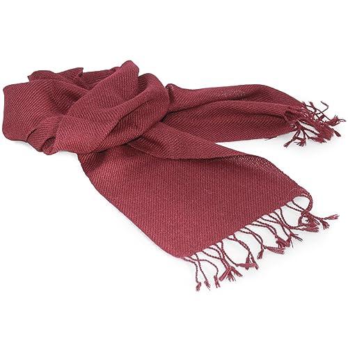 Bufanda de lana de alpaca - en una variedad de colores disponibles - lujoso