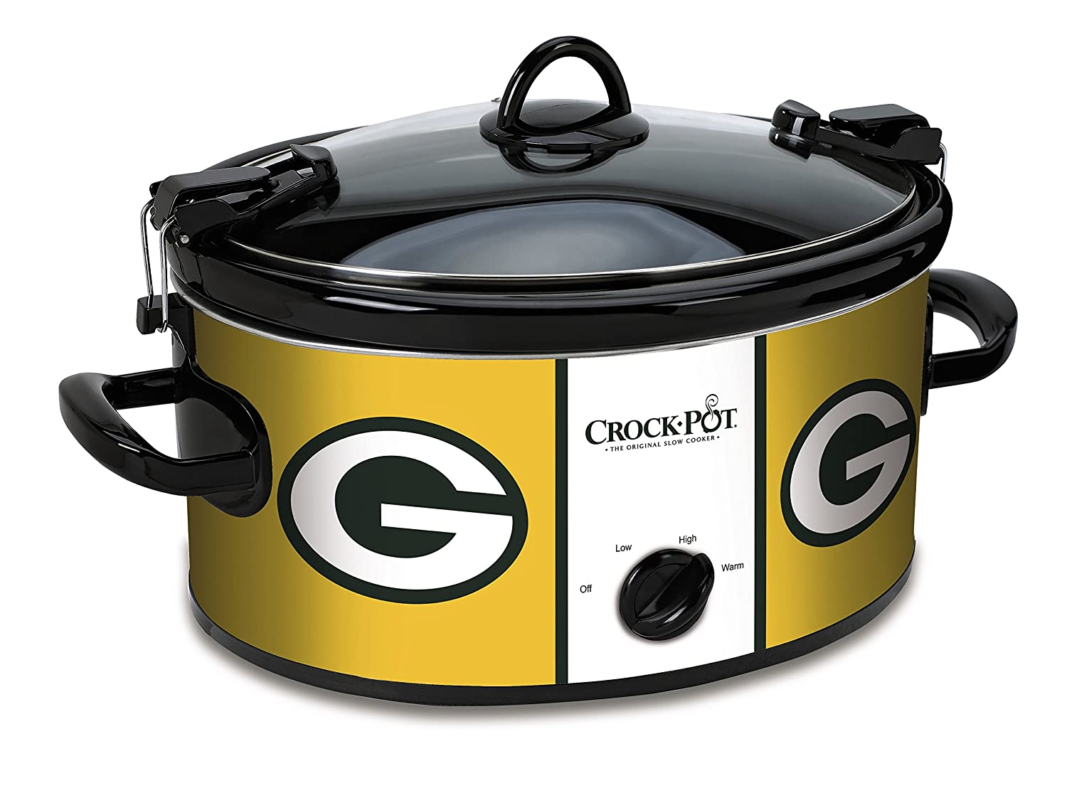 Crock-Pot Green Bay Packers NFL 6-Quart Cook & Carry Slow Cooker