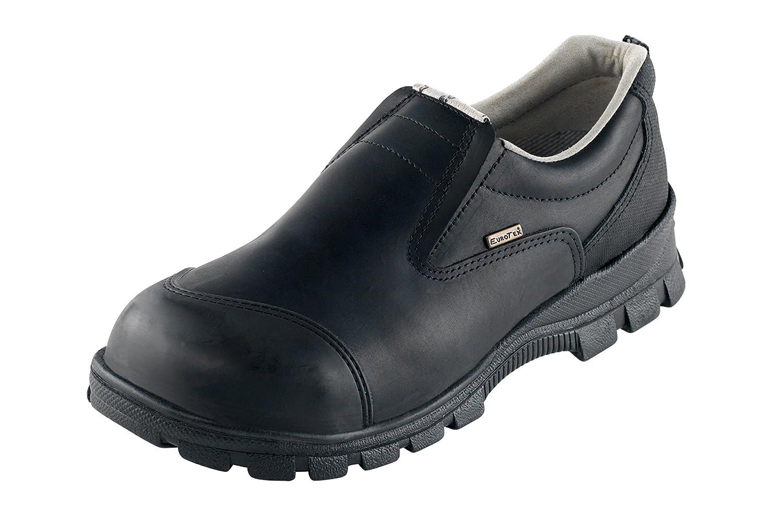 Euro-Dan - Calzado de protección de piel para hombre negro Schwarz 48 EU