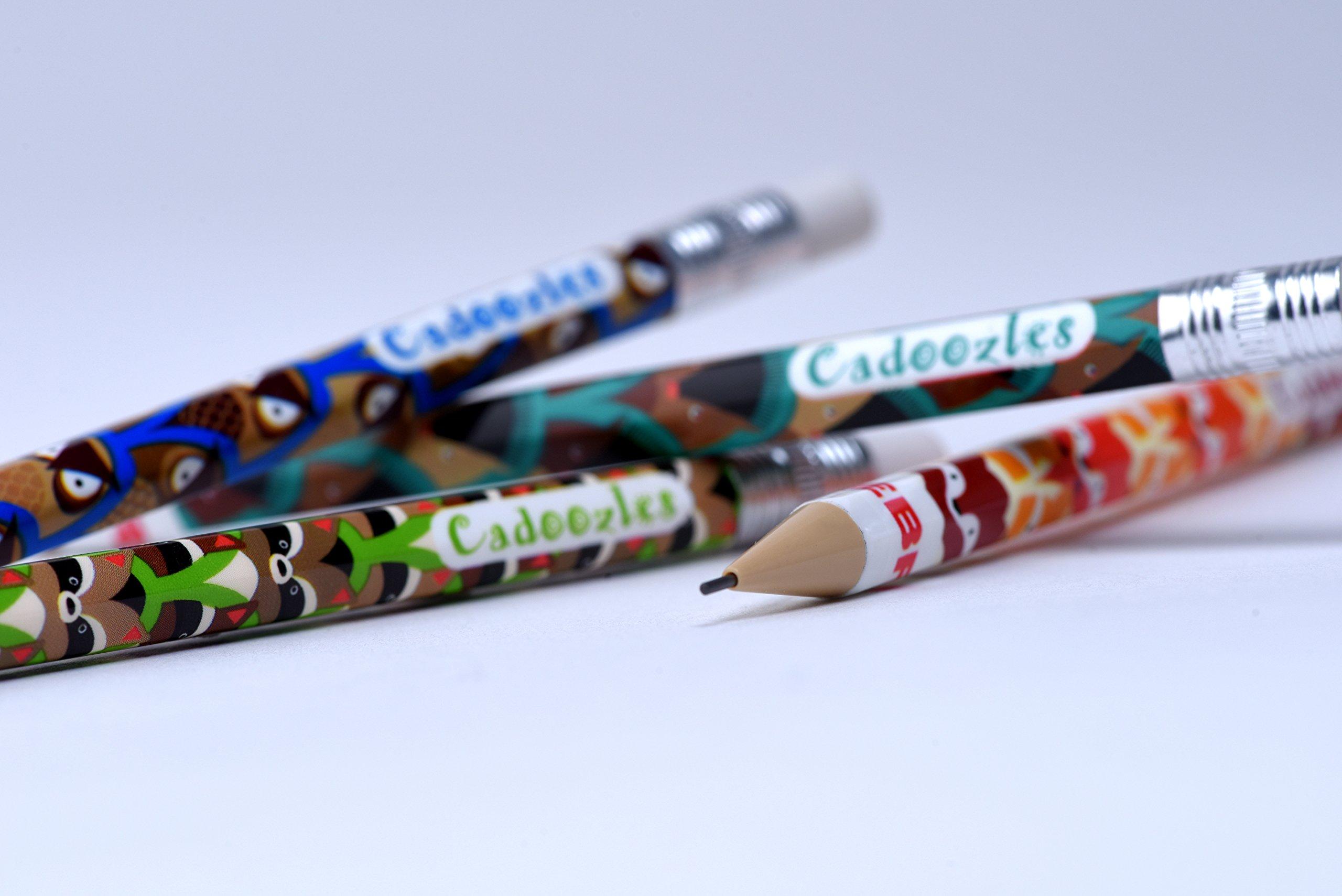 Zebra Cadoozles Mechanical Pencil Eraser Refills, White, 12-Piece Pouch, 30-Count (360 Pieces Total) by Zebra Pen (Image #3)