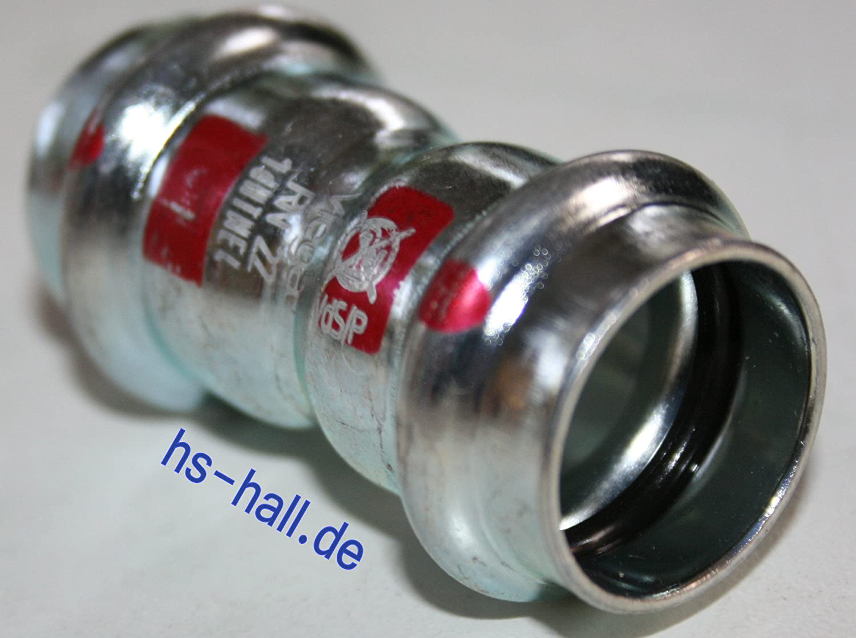 Viega 1115/Muffe Prestabo 1115/Durchmesser 22/mm Stahl