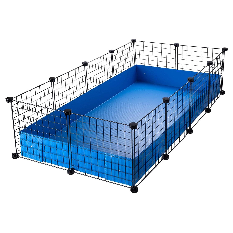 CagesCubes - Jaula CyC Grande (2X4 Paneles en Negro) + Base ...
