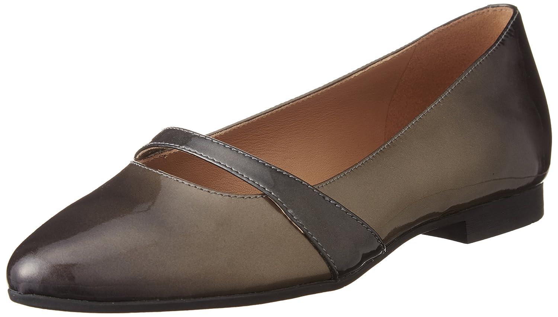 ECCO Footwear Womens Women's Akita 10 Mm Ballet Flat B015Z0TN7A 37 EU/6-6.5 M US|Ginger/Slate/Slate
