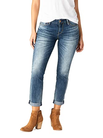 f07587bb76a94 Signature by Levi Strauss & Co. Women's Premium Modern Slim Cuffed Jeans  (Indio Medium