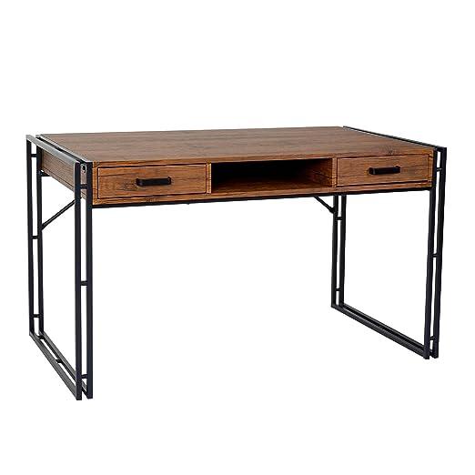 Escritorio Dohna, mesa de ordenador, 121 x 70 cm, estructura 3d ...