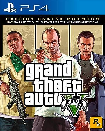Grand Theft Auto V Premium Online Edition - PlayStation 4 Standard Edition vídeo juego: Amazon.es: Bricolaje y herramientas